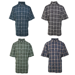 Carhartt-Men-039-s-Classic-Plaid-S-S-Woven-Shirt-XL-4XL-Retail-40