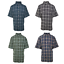 Carhartt-Men-039-s-Classic-Plaid-S-S-Woven-Shirt-XL-4XL-Retail-40 thumbnail 1