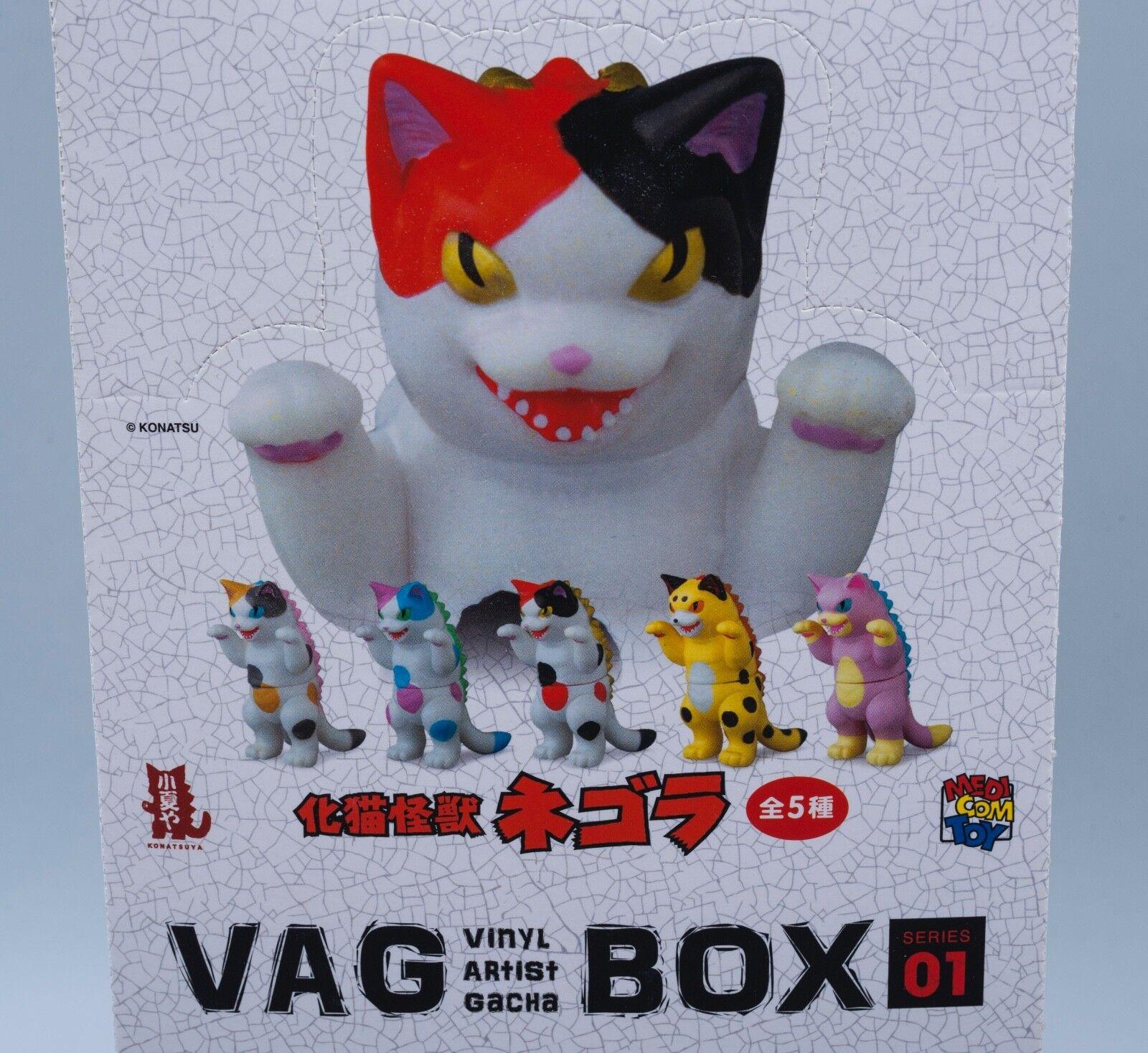 Kaiju negora VAG specialeeE in VINILE artista Gacha Set Completo konatsuya MEDICOM Konatsu