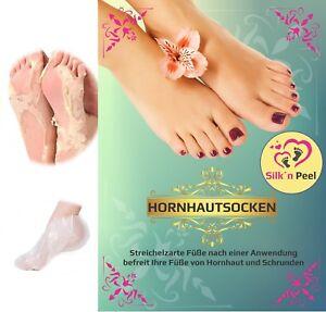 Hornhautsocken-Fussmaske-Fusspeeling-Hornhaut-Socken-Peeling-Entferner-Silk-n-Peel
