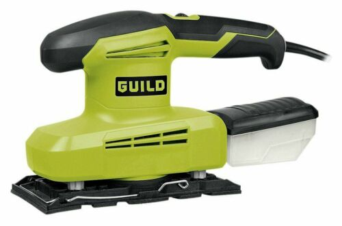 200W 1//3 Sheet Sander Details about  /Guild Hook and loop fastening system