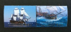 AUSTRALIA-1995-SG1510-1511-COMPLETION-OF-ENDEAVOUR-REPLICA-MNH