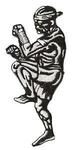 Patch-ecusson-patche-Thai-Boxing-Ram-Muay-Bangkok-Lumpinee-brode-logo