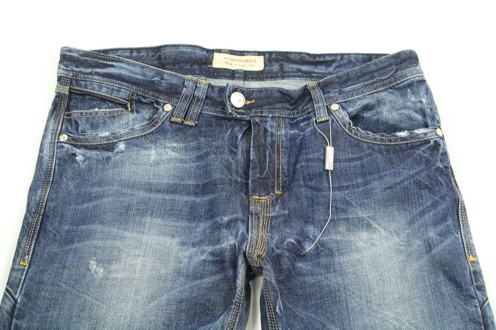 Martin Kiste Herren Jeans Distressed Stiefelcut Denim Größe 50 (Us 34) Einzelhandel    New Listing    Deutschland Berlin    Queensland