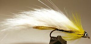ICE-FLIES-Streamer-fly-Black-Ghost-Zonker-Size-2-4-6-8-and-10-3-pack