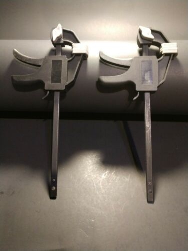 Pair of 4 inch bar clamps for Model railroaders Hobbyists and other small work.