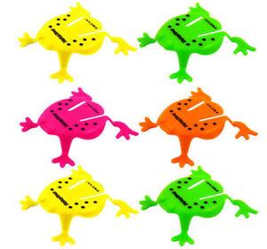 6-Jumping-Plastico-Ranas-Pinata-Juguete-loot-party-Bolsa-Rellenos-wedding-kids