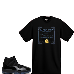 We Will Fit shirt to match Jordan XI Retro 11 Prom Night Cap and Gown