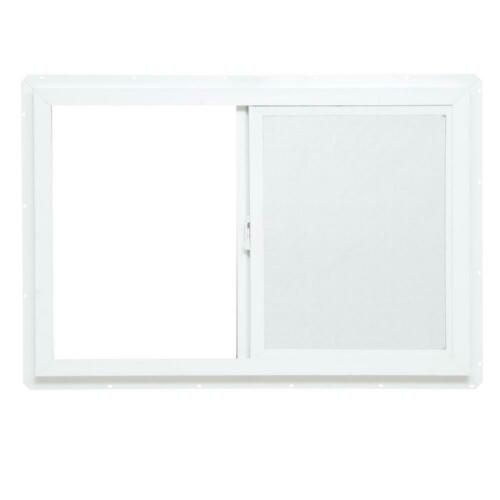 "New TAFCO WINDOWS 35.5/"" x 23.5/"" Double-Pane Single Vinyl Slider Window Left-Hand"