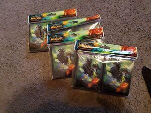 World-of-Warcraft-MTG-Magic-Headless-Horseman-Card-Sleeves-80-Count-Pack-L-K