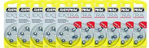 60-Rayovac-Extra-Advanced-Hearing-Aid-Batteries-SIZE-10-FREE-USA-SHIPPING