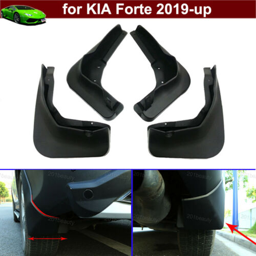 4pcs Car Mud Flaps Splash Guards Fender Mud Guards for KIA Forte 2019-2021