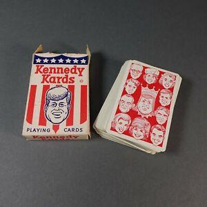 Vintage-Original-complete-deck-of-KENNEDY-KARDS-CARDS