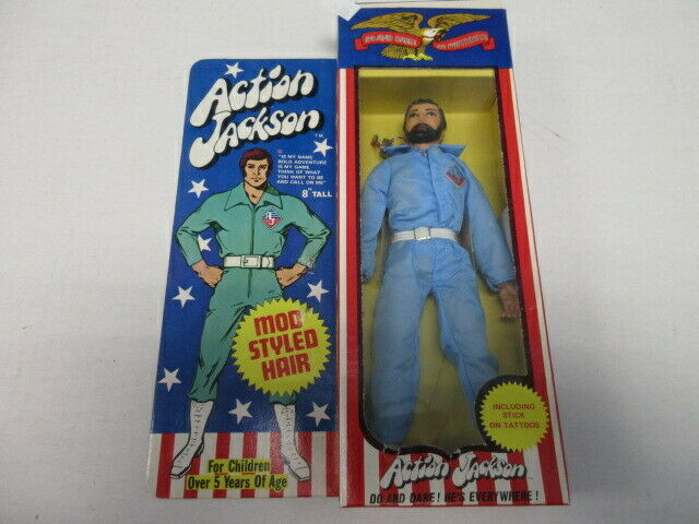 DO OR DARE ACTION JACKSON ACTION FIGURE