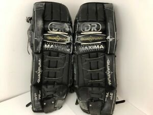 Dr Quantum Professiononal Maxima Ice Hockey Goalie Pads 31 Made