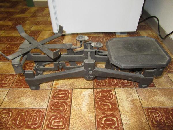GemäßIgt Alte Küchenwaage Aus Guss (ca. 80 - 90 Jahre Alt)
