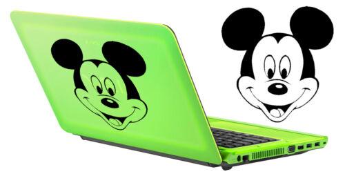 aus Ausschnitt Mickey Maus 15 X 15 cm Dauer Im Freien /> 10 Aufkleber Vinyl von
