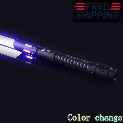 UK Luke Skywalker Lightsaber Force FX Heavy Dueling Rechargeable Metal Handle
