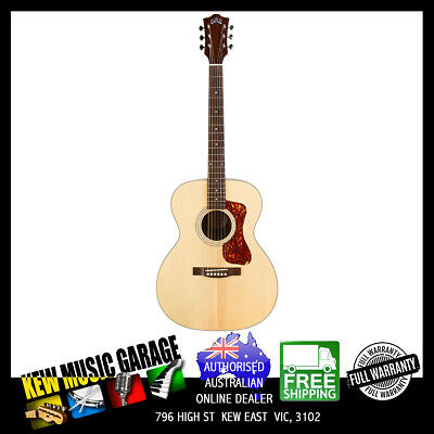 Musical Instruments & Gear Radient Guild Westerly Collection Om-240e Solid Top Acoustic-electric Guitar W/dlx Bag Fine Quality