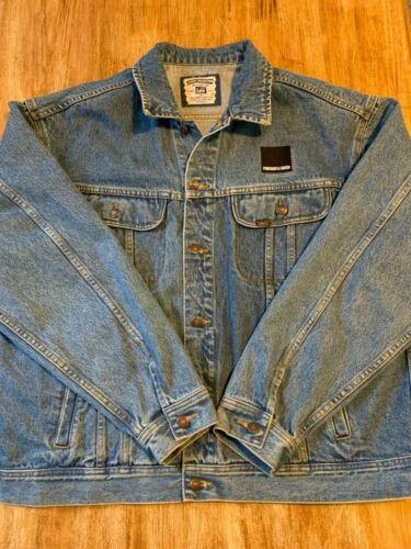 Lee Pinkham & Greer Embroidered Denim Jacket SIZE
