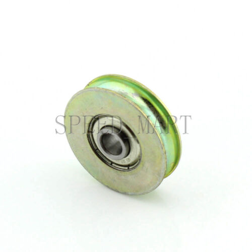 2pc 6.4x32x8mm U Groove Guide pulley Sealed Rail Ball Bearing