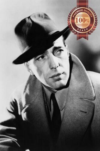 HUMPHREY BOGART FAMOUS ACTOR ORIGINAL CINEMA MOVIE PRINT PREMIUM POSTER