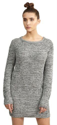 Nueva camiseta para mujer Talla Grande Túnica Larga Vestido Mini Tejido Sweater Jumper Giro 18-24