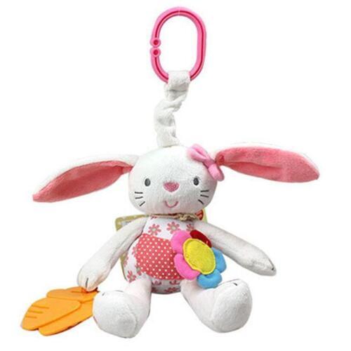 Kid Baby Crib Cot Pram Bed Stroller Hanging Plush Toy Rabbit