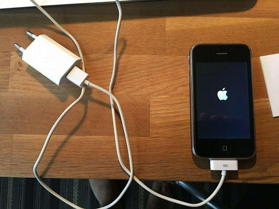 iPhone 3GS, 16 GB, sort
