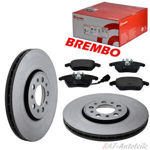 BREMBO-312mm-Bremsscheiben-Belaegesatz-fuer-VW-1LA-1LL-1LJ-1ZD-1ZA