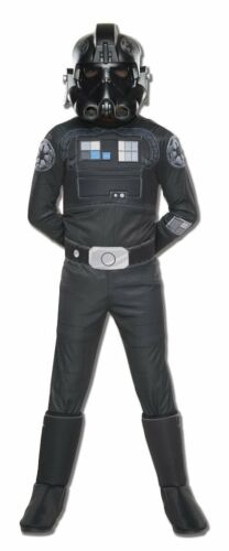 Boys Child Deluxe TIE FIGHTER PILOT Star Wars Rebels Animated Series Costume