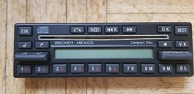 Auto & Motorrad: Teile Becker Mexico Disc Bedienaufsatz Typ 0860 Neu Den Speichel Auffrischen Und Bereichern