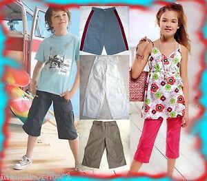 Beliebte Marke Bermuda Shorts Kurze Hose Sommerhose Caprihose 3/4 7/8 Hose Capri Mädchen Jungen Lange Lebensdauer