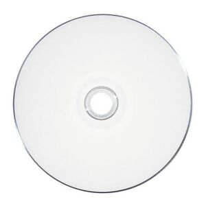 graphic relating to Printable Blank Cds called Information and facts concerning One of a kind SALE 100 52X White Inkjet HUB Printable Blank CD-R Disc Immediate Deliver