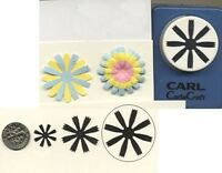 Large Cosmos Blossom Paper Punch By Punch Bunch Scrapbook-cardmaking-quilling