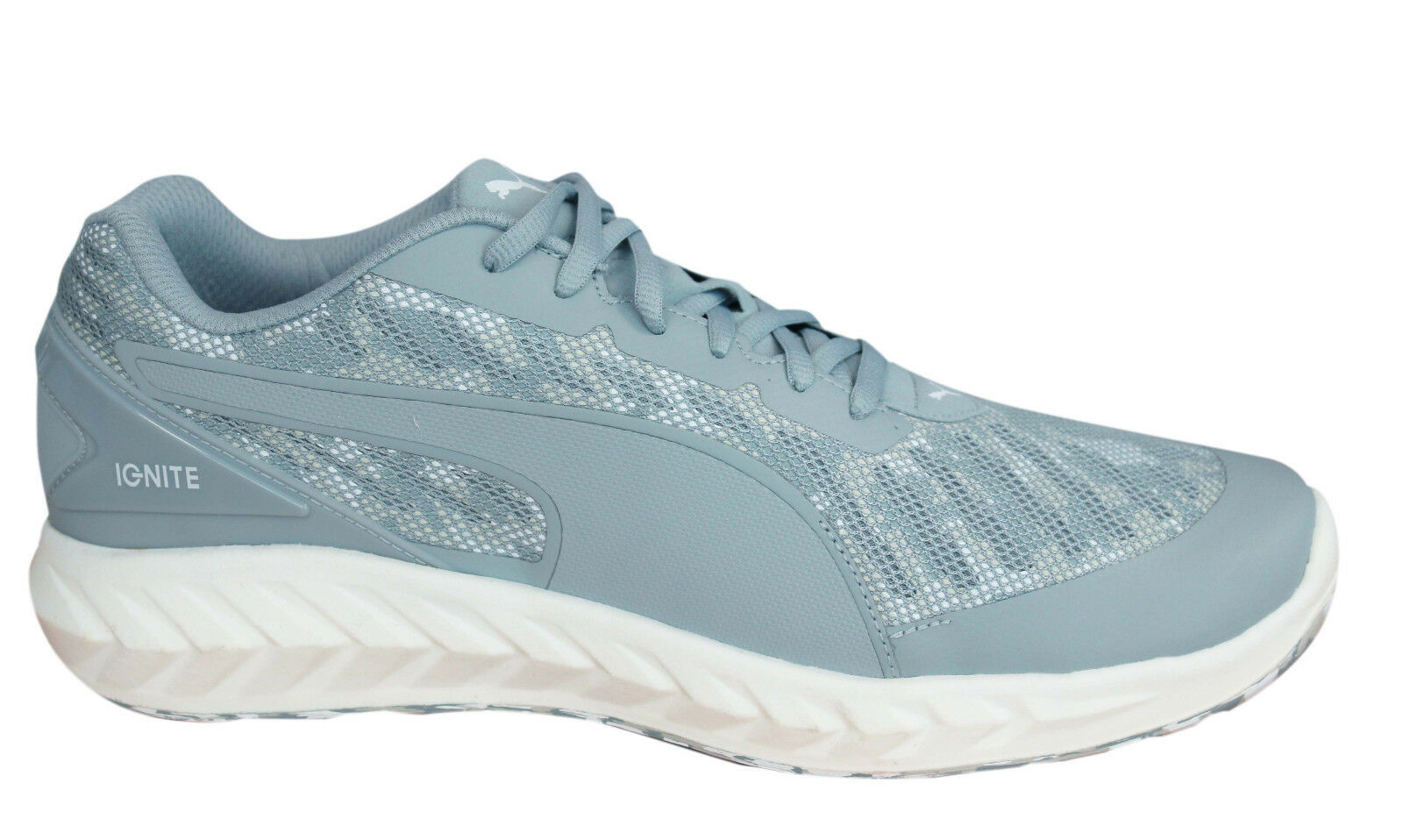 Puma Ignite Ultimate Cam Lace Up Trainers Grau  Uomo Textile Trainers Up 189004 02 OppM6 0243b6