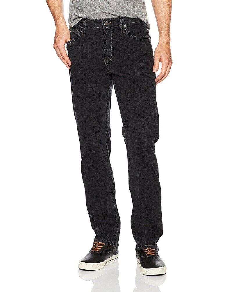 Agave Nummer 11 Herren Klassische Passform Jeans Graniteville Schwarz