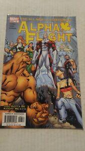 Alpha Flight #6 October 2004 Marvel Comics Lobdell Henry Morales