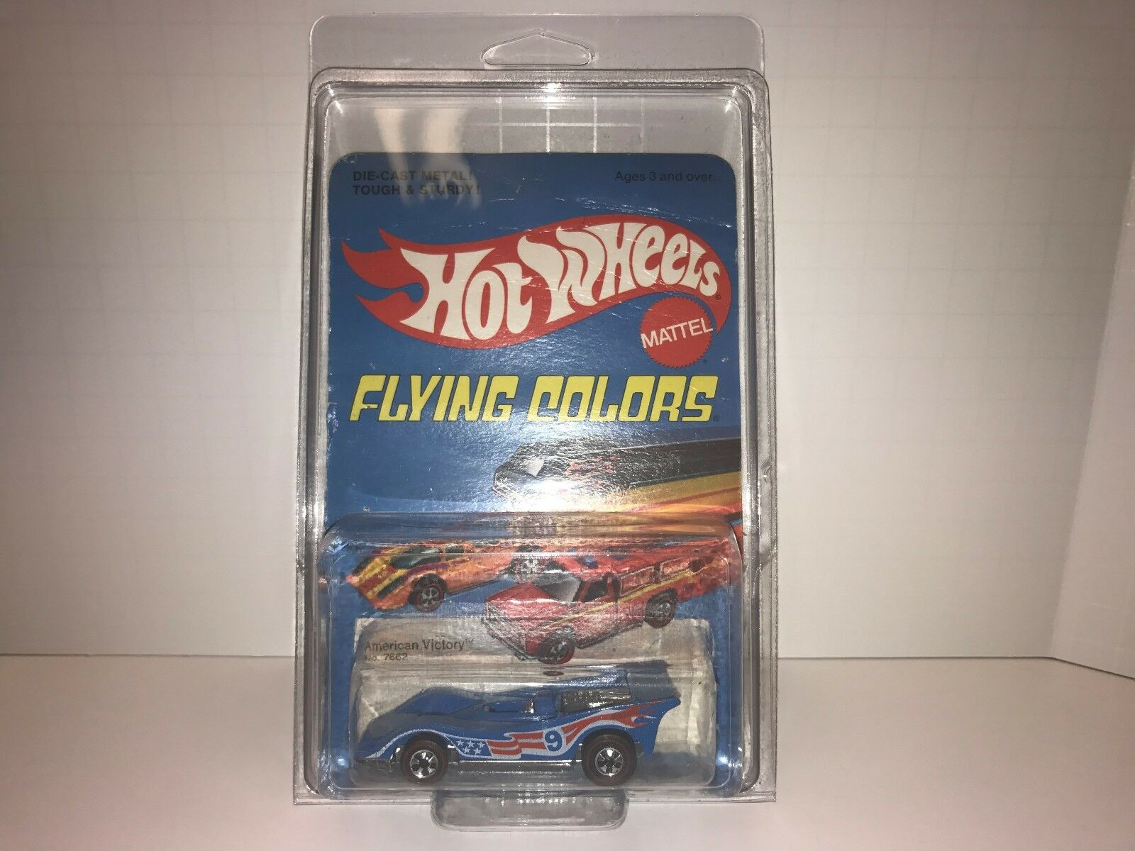 1975 Hot Wheels Flying Farbes rotline American Victory