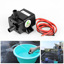 DC12V 3m 240L/H Ultra Quiet Brushless Motor Submersible Pool Water Pump Solar XG