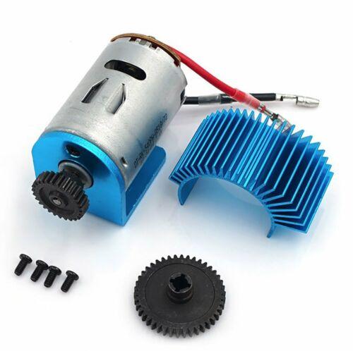 Motor w//Heat Sink 42T//27T Gear Set For 1//18 WLtoys A959-B A969-B A979-B