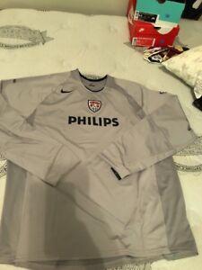 Nike USA Soccer Philips Jersey Gray/blue Very Rare 788853 082 Sz Xl