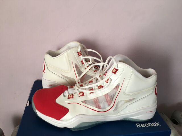15cefee0ed09 REEBOK MENS QUESTION MID White Pearlized Navy-Red J82534 Allen Iverson