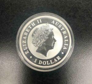 2015 999 Silver Elizabeth Ii 1 Dollar Coin Australian