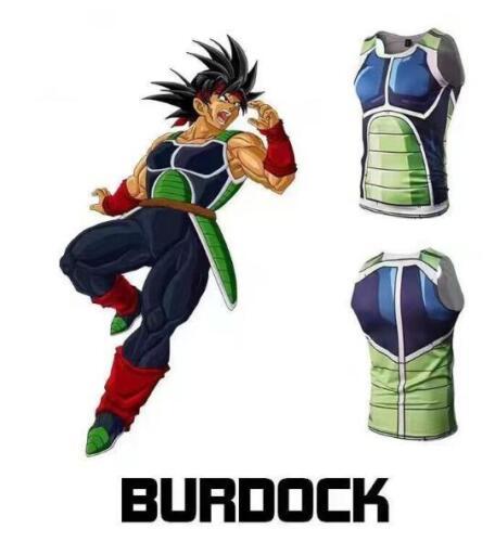 Cosplay Dragonball Z Anime Tank Top Shirt Tanktop Muskelshirt Unterhemd Neu