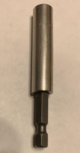 "Apex Bit Holder M-490-3/""-1//4""bit holder Magnetic"