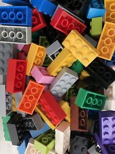 2 X 4 Black 50 X Bricks of Part 3001 MOC LEGO® Brick