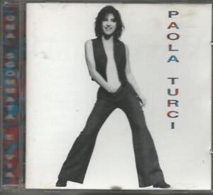 PAOLA-TURCI-Una-sgommata-e-via-CD-RARO-1995-MINT