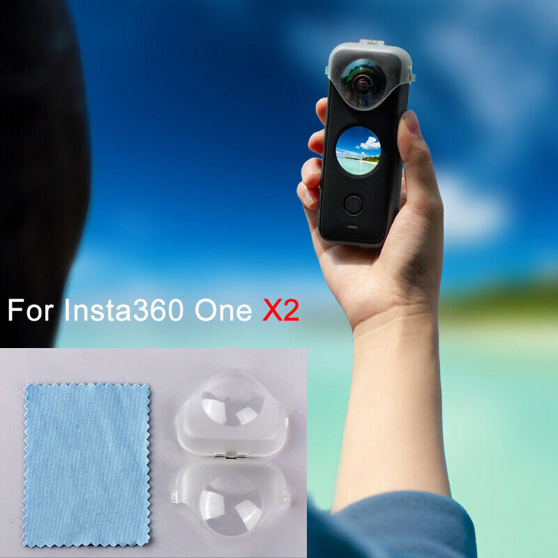 X2 Lens Cover Photography Clear Shell Protective Case For Insta360 One X2 Camera