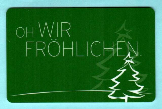 ERNSTING'S FAMILY ( Germany ) Oh Wir Frohlichen 2012 Gift ...
